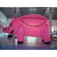 Inflatable Lighting 3 Meters Custom Shaped Balloons 0.25mm PVC Material Manufactures