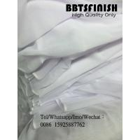 Bluish white white voile muslim fabric hajib head cover scarf fabric made by BAIBANG BBTS FINISH HIGH quality super fabr Manufactures