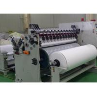 Buy cheap White PET Non Woven Rolls Spunlace Nonwoven Wipes Parallel Lapping from wholesalers