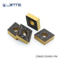 ISO Square Carbide Inserts , Carbide Turning Tips Inserts CNMG120408 - PM Manufactures