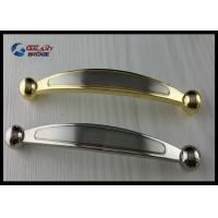 Chrome 64mm Kitchen Cabinet Handles , Modern Bathroom Drawer Pulls Arched Golden Manufactures