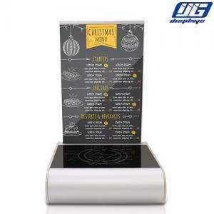 Buy cheap menu holder power bank restaurant menu restaurant tablet from wholesalers