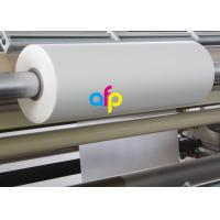 18 Mic Matte Lamination Film For UV Varnish 17 - 250 Micron Thickness Optional Manufactures