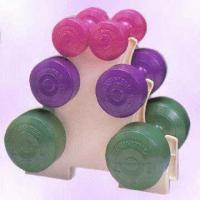 Vinyl Dumbbell Set Available in Different Colors and Weights Manufactures