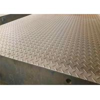 Buy cheap 3*18m 100T Manganese Steel Checker Plate Digital Weighbridge With Ramp from wholesalers