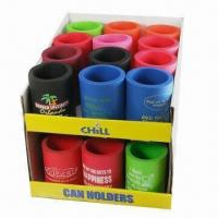 Can Holders for Promotional Giveaway, Stain-resistant and Machine Washable Manufactures