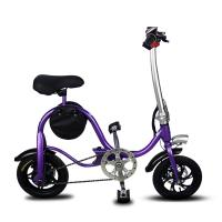 Disc Brake Fold Up Electric Bike Aluminum 6061 Body Material S1 Stem Folding Manufactures