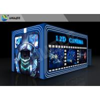 Entertainment Virtual 12D Cinema XD Theatre Cabin With 3DOF Eletric Chairs Manufactures