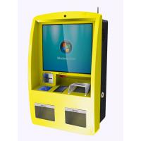 Self Service Wall Mounted Kiosk Anti Vandalism Durable Rugged Steel Frame Manufactures