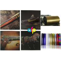 Fine Overprint Definition Cold Foil Stamping Applications Customized Reel Size And Colors Manufactures