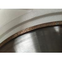 Bronze Metal Bonded Diamond Grinding Wheels For High Speed Four-Side Edging Machine Manufactures