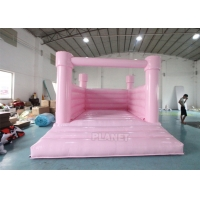 Commercial White Bouncy Castle Wedding Children'S Inflatable Bounce House Rental Bouncy Jumping Bouncer For Sale Manufactures