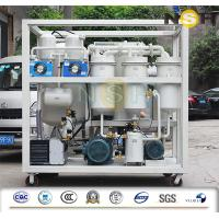 China Energy Saving Lubricant Hydraulic Oil Purifier Machine Multi Stage Filtration System on sale