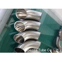 Hygienic Valves And Fittings 1/2'' - 12'' , TP304 316L Stainless Steel Sanitary Weld Fittings Manufactures