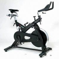 Fitness Bike for Commercial Use, Frame in Steel-coated by Liquid Painting Manufactures