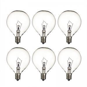 Wax Warmer Bulbs Dimmable Incandescent Light Bulbs , G50 Round 25 Watt Incandescent Bulb Manufactures