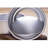 152x147x69mm Non Stick Anodized Round Cake Baking Tray Manufactures