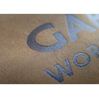Custom Embossed Leather Patches Brand Name Tan Color Genuines For Jeans Manufactures