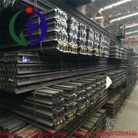 Light Weight Q235 Grade Train Track Material , Length 6 to 12 m Manufactures