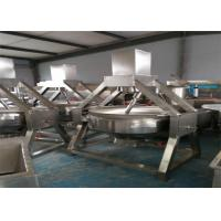 High Heat Efficiency Automatic Wok Machine Electric For Industry / Hotels Manufactures