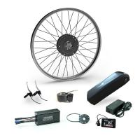 High Speed Electric Road Bike Kit Front Motor Wheel Assist Kit With Batteries Manufactures