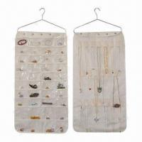 Buy cheap Hanging Jewelry Organizer, Customized Labels and Logos are Welcome from wholesalers