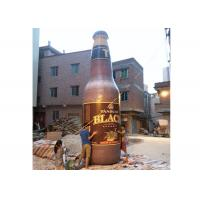 Attractive Inflatable Beer Bottle , Inflatable Replicas For Special Event / Advertising