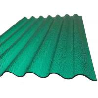 PC Corrugated Plastic Greenhouse Panels Opaque Corrugated Roofing Sheets for Building   Manufactures