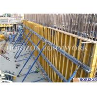 Adjustable Push-Pull Brace to Plumb Wall Formwork Systems / Erection In Concrete Work Manufactures