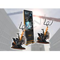 Fashion Virtual Reality Bike Ride / 9D VR Exercise Bike With HTC VIVE VR Headset Manufactures