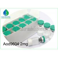 High Pure Injectable Peptides Fragment AOD9604 Powder For Fat Loss Manufactures