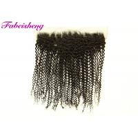 """Buy cheap 13x6 Lace Frontal / 13x4 Transparent Lace Frontal 10-18"""" Curly from wholesalers"""