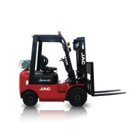 JAC Gasoline Forklift Truck 1.5 Ton Lifting Capacity 3m - 6m Lift Height