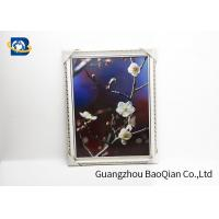 PET / PP 3D Lenticular Pictures Printing Beauiful Flower Pattern For Home Decoration Manufactures