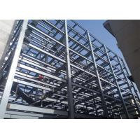 Steel Structure Prefabricated Warehouse Buildings , Ecuador Steel Frame Fabrication Manufactures