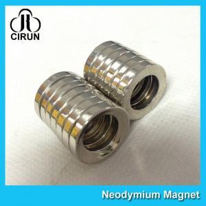 Multipole Radial Magnetization Neodymium Magnets Ring Shaped for Speaker