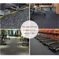 Buy cheap Rubber Gym Flooring Mat by Rolls, Power Training Space workout Flooring from wholesalers