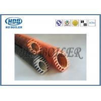 Steel Extruded Spiral Fin Tube Economizer For Heat Transfer / Air Cooler Manufactures