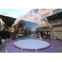 5m Dia Single Bubble Inflatable Bubble Tent Without Tunnel Manufactures