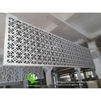 Metal aluminum facade cladding wall for facade curtain wall  with 3mm thickness aluminum panel