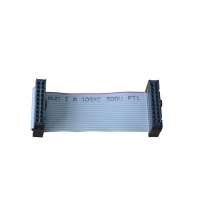Custom 28 AWG 20 Pins AWM 2651 IDC Ribbon Cable Manufactures