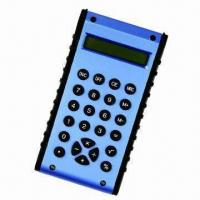 Portable Mini Calculator, Transparent Shell Available, Customized Logos are Accepted Manufactures