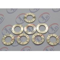 Precision CNC Machining Services , Brass Flat Washers with Ra 1.6 Roughness Manufactures