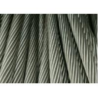 Buy cheap AISI 316 6X36 Stainless Steel Wire Cables For Auto Control Systerm 6X36 from wholesalers