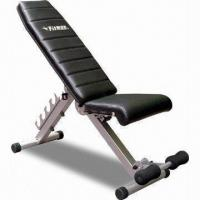 Foldable Sit-up Bench with Adjustable Height Manufactures