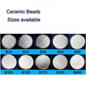 Solid B100 3C Products Sandblasting Ceramic Beads Manufactures
