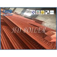 Energy Saving Carbon Steel Boiler Water Wall Tubes For Power Plant In Orange Color Manufactures