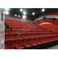 Real Feeling Large Screen Hd 3D Cinema System For Holding 40 People Manufactures