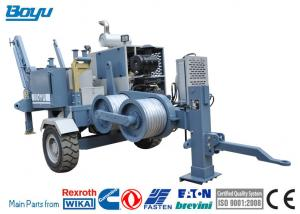 Overhead Line 77kw 103hp Hydraulic Puller Machine Max Intermittent Pull 60kN Manufactures