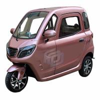 Differential Speed 3 Wheels 60V Enclosed Electric Tricycle Manufactures